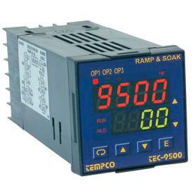 Temperature Control - 90-250VAC, 1/16Din, (2) 2ARelay, TEC18002