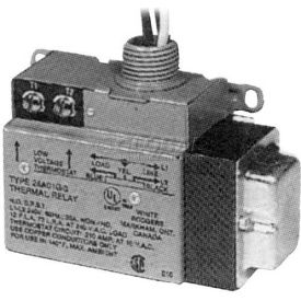 TPI Low Voltage Relay Single Switch Throw With Built-In Transformer 20V 24A05A1