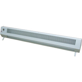 TPI Portable Baseboard Plug-In Heater 483TM - 1500W 120V 1 PH