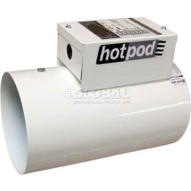 "TPI Hotpod 6"" Diameter Inlet Duct Mounted Heater Cord Set HP6-1000120-2CT 1000/500W 120V"