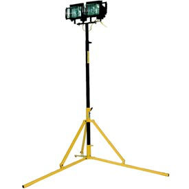 TPI Heavy Duty Portable Utility Tripod Light Quartz Halogen - 2 Lamp