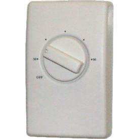 TPI Wall Mount Thermostat Single Pole For Unit Heaters, 120-277v S2025H10AA