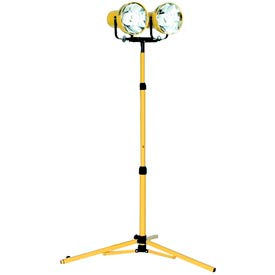Portable Utility Tripod Light Fluorescent - 2 Lamp