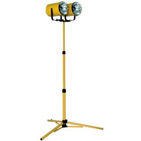 Portable Utility Tripod Light Metal Halide - 2 Lamp
