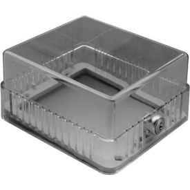 "TPI Plastic Thermostat Guard 6-1/4""W X 4-1/4""H X 3-1/4""D Opening TG1"