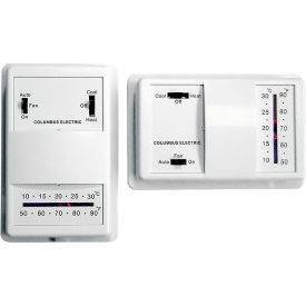 TPI Low Voltage Wall Mounted Thermostats - UT8001