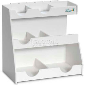 "TrippNT™ White PVC Top Loader Workstation, 13""W x 8""D x 12""H"
