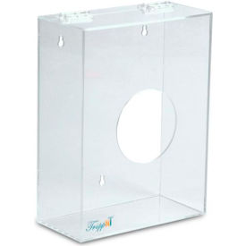 "TrippNT™ Small Clear Acrylic Apparel/Hairnet Dispenser, 9""W x 4""D x 12""H"