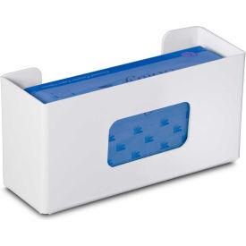 "TrippNT™ 50304 Single Economy Glove Box Holder, 11""W x 4""D x 6""H, White"