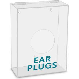 "TrippNT™ Ear Plugs Labeled Small Apparel Dispenser, 9""W x 4""D x 12""H, Clear"
