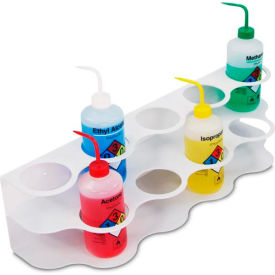 TrippNT™ 51827 White ABS 9-Hole Two Story Bottle Holder