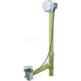 "Geberit 151.570.GG.1 Euro TurnControl Cascading Tub Filler, Polished Brass Finish, 1/16""-5/16"" Wall"