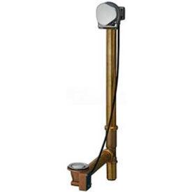 "Geberit 151.572.GG.1 Euro TurnControl Cascading Tub Filler, Polished Brass Finish, 9/16"" - 3/4"" Wall"
