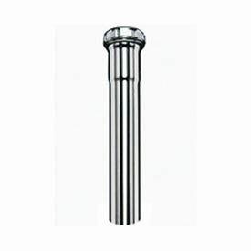 """Keeney Mfg Co 1903PC 12"""" 22GA Chrome Extension Tube - Slip Joint - 1-1/4"""""""
