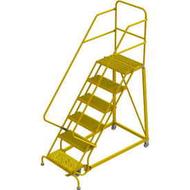 Fabulous Ladders Rolling Steel Ladders 6 Step 24Quotw Steel Squirreltailoven Fun Painted Chair Ideas Images Squirreltailovenorg