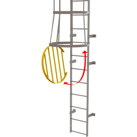 Ladders Fixed Access Ladders Fixed Steel Cage Ladder