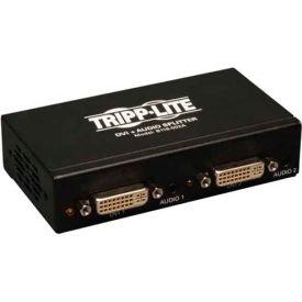 Tripp Lite 2-Port DVI Single Link Splitter Audio and Signal Booster F / 2xF