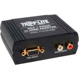 Tripp Lite VGA w/ Audio to HDMI Converter Adapter for Stereo Audio / Video
