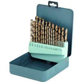 25 Pc. Import HSS Black Oxide Screw Machine 1-13mm x .5mm Drill Set