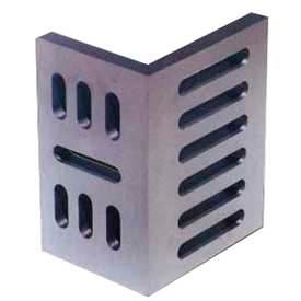 "Suburban Slotted Angle Plates - Open End - Ground Finish 7"" x 5-1/2"" x 4-1/2"""