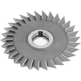"Made in USA 45° Single Angle Arbor Style Milling Cutter LH 3"" Dia x 1/2"" Width x 1-1/4"" Hole"