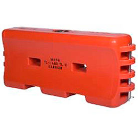 TrafFix Devices Water-Cable Barrier™, Orange, 45332-MO