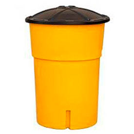 TrafFix Devices Big Sandy® 48000 Series, 2,100 lb Capacity Barrel With Lid, 48210-0