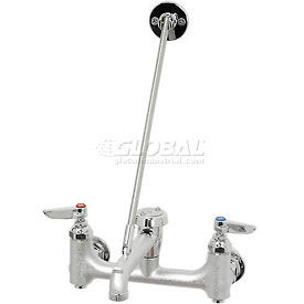 T&S Brass B-0665-BSTP Polished Chrome Service Sink Faucet