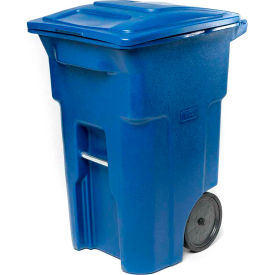 Garbage Can Amp Recycling Mobile Toter Heavy Duty Two