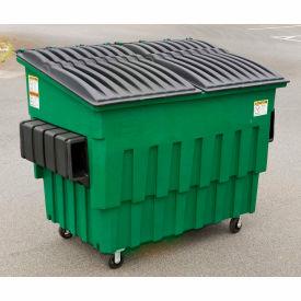 Toter 3 Yard Front Loading Dumpster, Midnight Gray   - FL030-10033