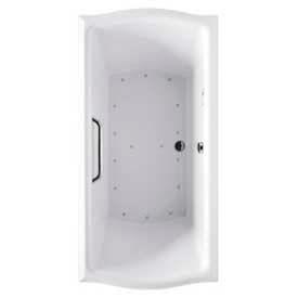 TOTO® ABA784L-01YCP Clayton® Air Tub WLH Keypad, Cotton White