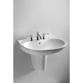 "TOTO® LHT241.4G-01 Supreme® Lavatory & Shroud W/4"" Centers, Cotton White"