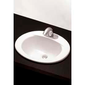 "TOTO® LT501.4-01 4"" Centers 20"" X 17"" Self Rim Lavatory, Cotton White"