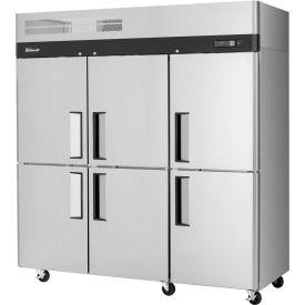 Turbo Air M3R72-6-N Solid Door Refrigerator 72 Cu. Ft. Steel