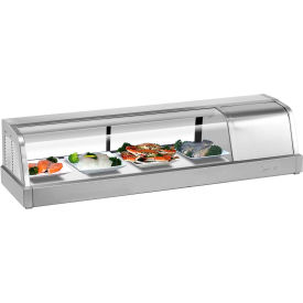 4' Refrigerated Sushi Display Case