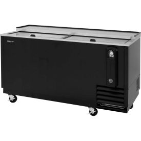"Turbo Air TBC-65SB - Bottle Cooler, 18.5 Cu. Ft., Black, 64-3/8""W x 26-1/2""D x 33-1/4""H"