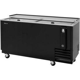 "Turbo Air TBC-65SB - Bottle Cooler, 18.5 Cu. Ft., Black, 64-3/8""W x 26-1/2""D x 33-1/4""H"