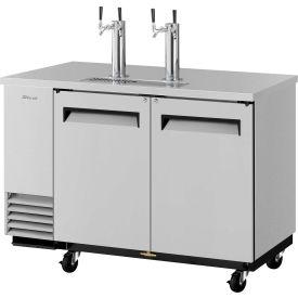 2 Keg Capacity Beer Dispenser Stainless Steel by