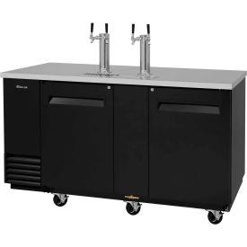 3 Keg Capacity Beer Dispenser - Black