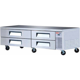 """Turbo Air TCBE-82SDR Super Deluxe Series - Chef Base 82""""W - 4 Drawers"""