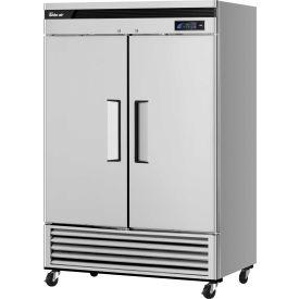 """Turbo Air TSF-49SD Super Deluxe Series - Solid Door Freezer 54-2/5""""W - 2 Door"""