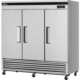 Turbo Air TSR-72SD-N Solid Door Refrigerator 72 Cu. Ft. Steel