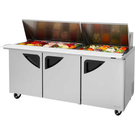 "Super Deluxe Series - Mega Top Sandwich/Salad Table 72-1/2""W - 3 Door"