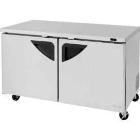 """Super Deluxe Series - Undercounter Freezer 60-1/4""""W - 2 Door"""