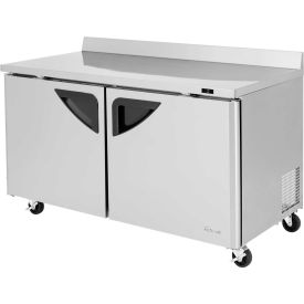 "Super Deluxe Series - Worktop Freezer 60-1/4""W - 2 Door"