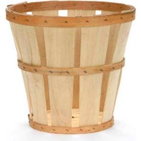 1/2 Bushel Hamper Wood Basket 12 Pc - Light Blue - Pkg Qty 12
