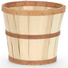 "T10 (11"" Dia x 9-1/2""H)) Wood Basket 12 Pc - Yellow - Pkg Qty 12"