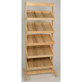 Retail Display Fixtures Baskets Crates Wooden Wood Crate