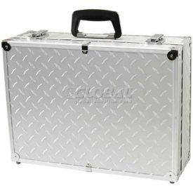 "TZ Case, Business/Office Case, 18""L x 13""W x 6""H, Silver Diamond Plate"