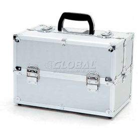 "TZ Case, Beauty Case, 14""L x 8-1/2""W x 9-1/4""H, Silver Dot"